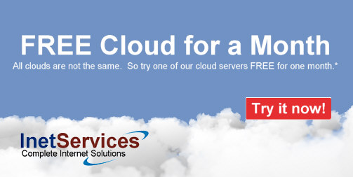 Free Cloud for a Month | InetServicesCloud Blog